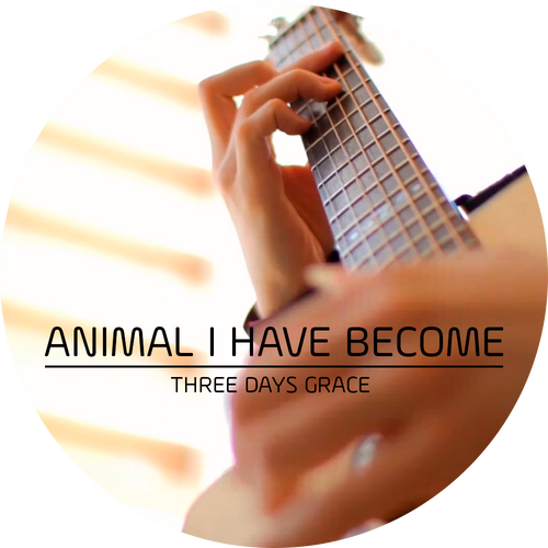 "Guitar Tab - Three Days Grace - ""Animal I Have Become"""