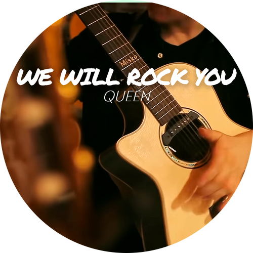 "Guitar Tab - Queen - ""We Will Rock You"""