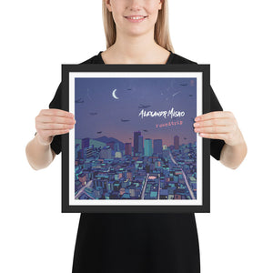 ROUNDTRIP - FRAMED PHOTO PAPER POSTER