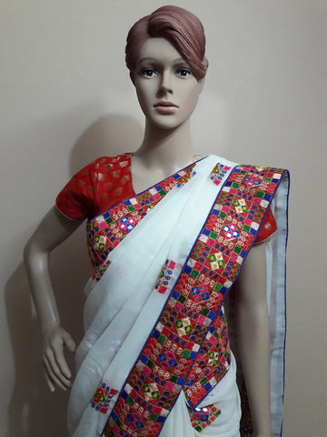 Features of Rajasthani sarees