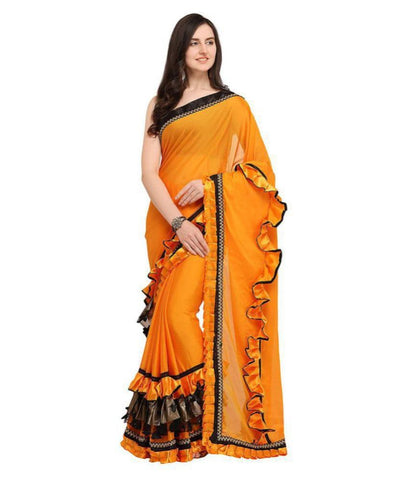 sythetic saree