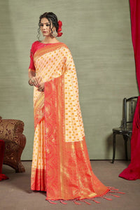 Tusser Silk Pattu Saree Buy Online