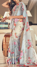 Load image into Gallery viewer, Kota Silk Floral Print Sarees