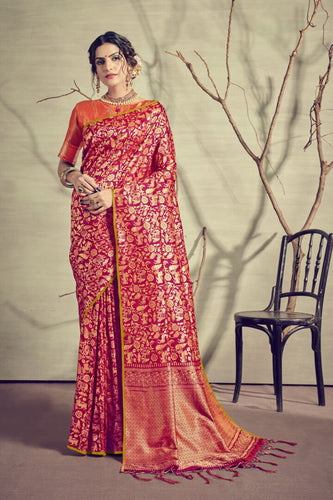 Banarasi Silk Party wear saree