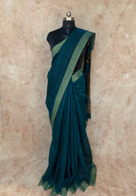 Load image into Gallery viewer, Tree Design Pure Matka Silk Hand-Loom Saree