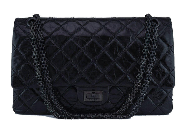 Chanel So Black 226 Reissue Classic 2.55 Double Flap Bag