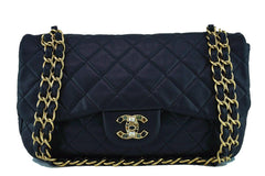 Chanel Black Precious Jewel Limited Jumbo Flap Bag