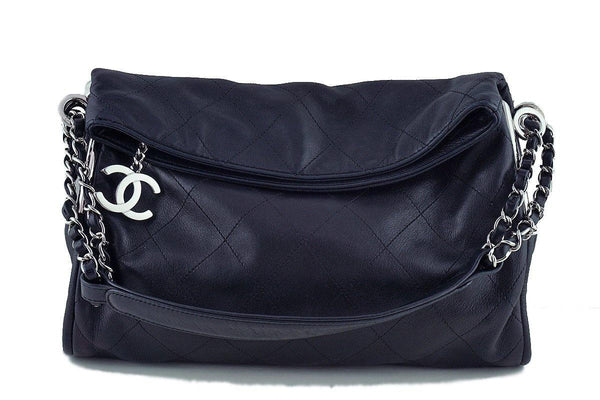 c77c89424bbb70 Chanel Black Lambskin Quilted Ultimate Soft Flap Bag
