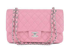 Chanel Pink Caviar Medium Classic 2.55 Double Flap Bag