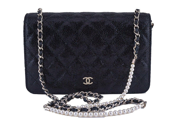 46f98d0167b6 Chanel Pearl Wallet on Chain WOC Fantasy Bag New