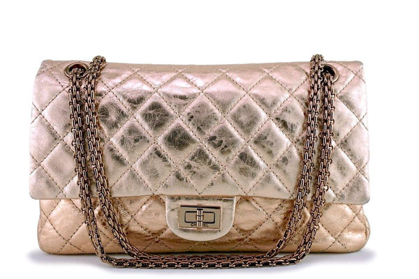 Chanel Rose Gold Reissue 226 Classic 2.55 Flap Bag RGHW