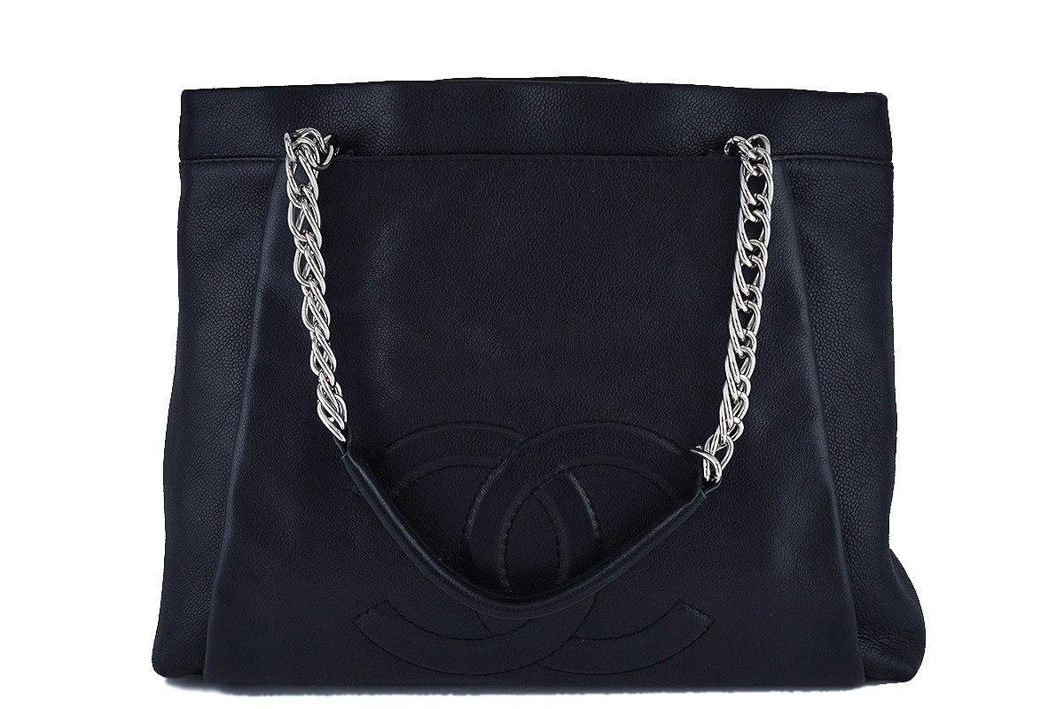 Chanel Black Caviar Timeless Large Shopper Tote Bag - Boutique Patina  - 1