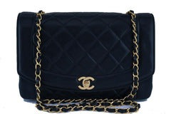 Chanel Black Vintage Quilted Classic