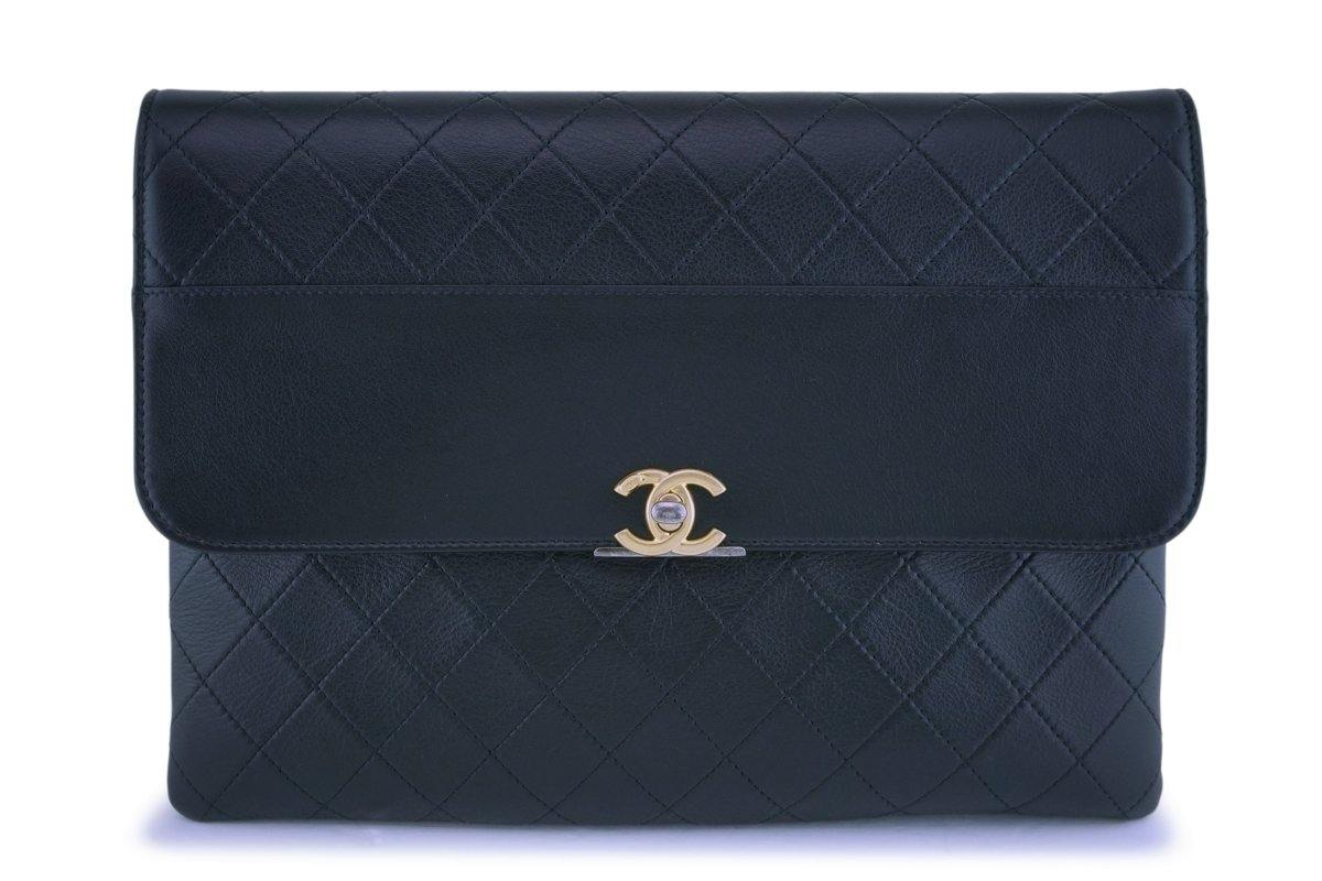 NIB Chanel Timeless O Case Classic Timeless Clutch Bag