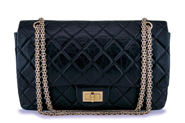 Chanel Black Reissue Large 227 2.55 Classic Flap Bag
