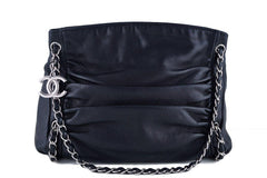 Chanel Black Sharpei Ultimate Soft Hobo Tote Bag - Boutique Patina  - 1