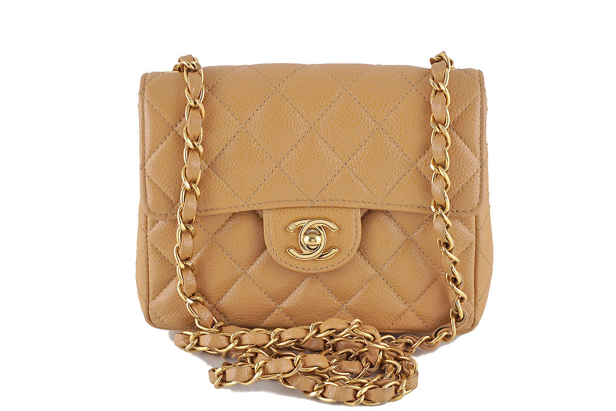 Classic Chanel 2.55 quilted camel evening handbag forecasting to wear in autumn in 2019