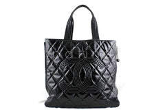 Chanel Black Large Patent Moscow Shopper Tote Bag 60478 - Boutique Patina  - 1