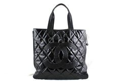Chanel Black Large Patent Moscow Shopper Tote Bag - Boutique Patina  - 1