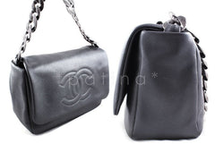 Chanel Gray Caviar 31 Timeless Flap Bag (New) - Boutique Patina  - 2