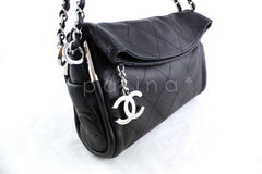 Chanel Black Lambskin Quilted Ultimate Soft Flap Bag - Boutique Patina  - 2