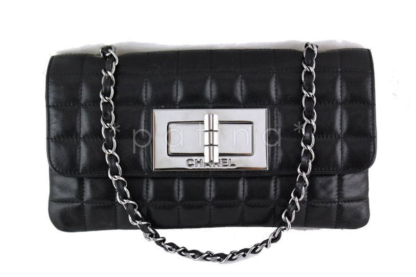 Chanel Black Giant Reissue Lock Classic Flap Bag