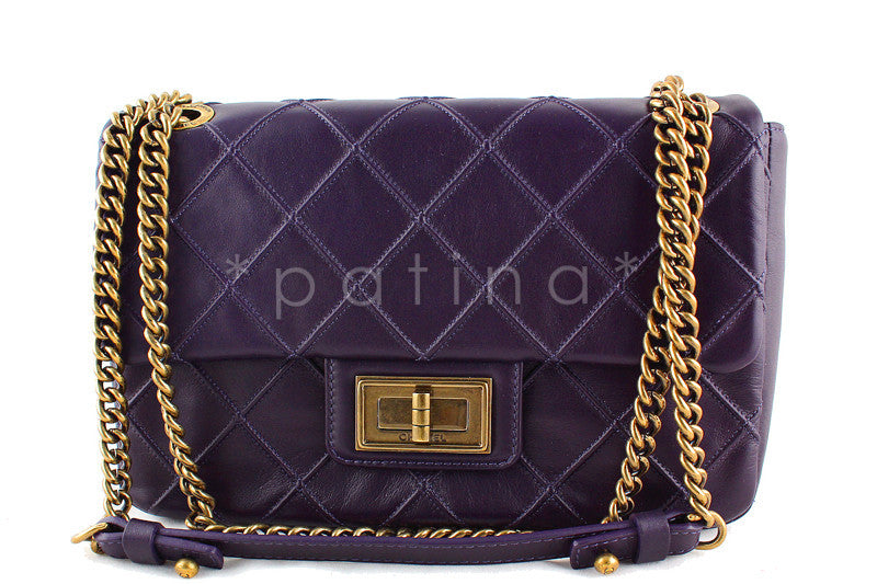 Chanel Purple Violet Reissue Cosmos Flap Bag (New)