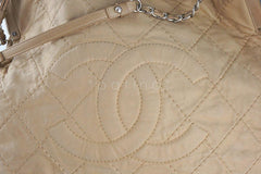 Chanel Beige Hobo Tote, Logo Classic Shopper Bag - Boutique Patina  - 8