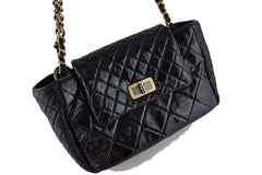 Chanel Black Two-tone Reissue Lock Quilted Tote Flap Bag - Boutique Patina  - 2