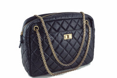 Chanel Black Jumbo Large 2.55 Reissue Camera Case Bag - Boutique Patina  - 2