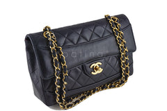 Chanel Black Vintage Quilted Classic 2.55 Flap Bag and Wallet - Boutique Patina  - 2