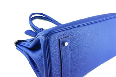Hermes Shoulder Birkin JPG 2 Bag, Electric Blue 42cm Togo - Boutique Patina  - 6