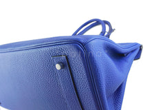 Hermes Shoulder Birkin JPG 2 Bag, Electric Blue 42cm Togo - Boutique Patina  - 9