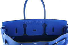 Hermes Shoulder Birkin JPG 2 Bag, Electric Blue 42cm Togo - Boutique Patina  - 15