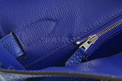 Hermes Shoulder Birkin JPG 2 Bag, Electric Blue 42cm Togo - Boutique Patina  - 18