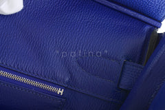 Hermes Shoulder Birkin JPG 2 Bag, Electric Blue 42cm Togo - Boutique Patina  - 19