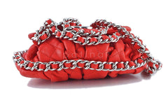 Chanel Red Chain Around Mini Classic Flap, Small Crossbody Bag - Boutique Patina  - 6
