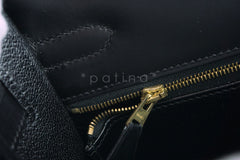 Hermes Black 32cm Box calf Kelly Sellier Bag, GHW - Boutique Patina  - 17