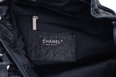Chanel Black On the Road Large Drawstring Bucket Tote Bag - Boutique Patina  - 9