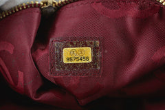 Chanel Red Soft Textured CC Logo Drawstring Tote Shopper Bag - Boutique Patina  - 9