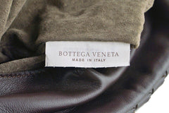 Bottega Veneta Ebano Brown Messenger Bag Woven Lambskin Cross Body - Boutique Patina  - 12