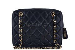 Chanel Black Classic Quilted Flap Camera Case Bag - Boutique Patina  - 4