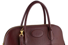 Hermes Havanne Brown Clemence 35/37cm Mou Bolide Shoulder Tote Bag - Boutique Patina  - 10
