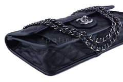 Chanel Black Caviar Classic French Riviera Flap Bag - Boutique Patina  - 6