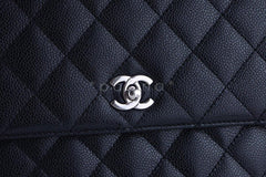Chanel Black 2.55 Classic Quilted Kelly Flap Satchel Bag - Boutique Patina  - 7
