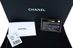 NWT 16A Chanel Red Caviar Boy Classic Quilted WOC Wallet on Chain Flap Bag