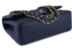 Chanel Navy Blue Caviar Jumbo 2.55 Classic Double Flap Bag - Boutique Patina  - 6
