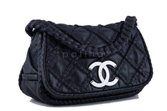 Chanel Black Hidden Chain Jumbo Luxury Flap Bag - Boutique Patina  - 2