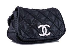 Chanel Black Hidden Chain Jumbo Luxury Flap Bag - Boutique Patina  - 3
