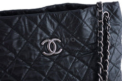 Chanel Black Classic Quilted Shopper Tote Bag - Boutique Patina  - 5